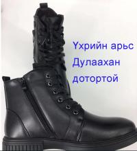Эрэгтэй арьсан гутал Өвлийн гутал Leather shoes