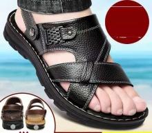 Эрэгтэй арьсан сандаал Арьсан гутал Зуны гутал