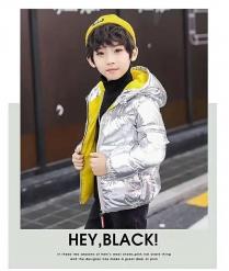 Хүүхдийн куртик Малгайтай  куртик Богино куртик Hu