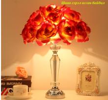 Үнэртүүлэгчтэй ширээний гэрэл Болор гэрлийн бүрхүү