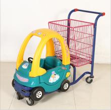 Дэлгүүрийн тэрэг Хүүхдийн машинтай сагс тэрэг